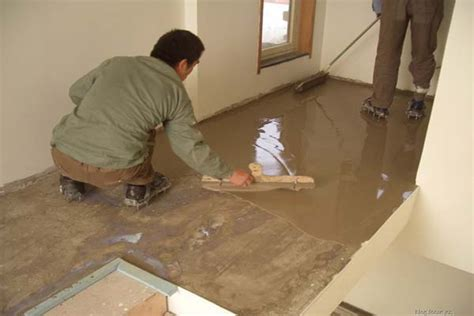 Self Leveling Floor Compound by Flooring Self Leveling Compound Leveling Guide Mud