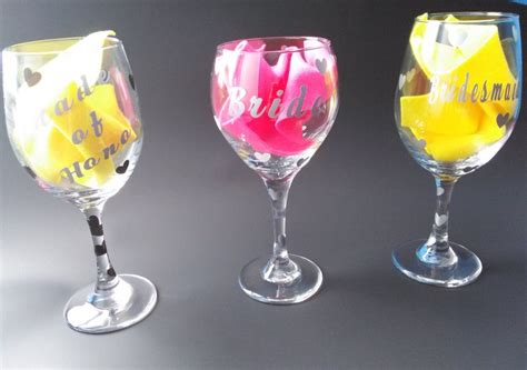 Handmade Lwork Glass - personalize wine glass lovely gems handmade gifts