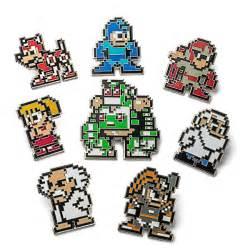 Mario Bros 3 Dot Pin Set by Mega Collectible Enamel Pin Sets Mega