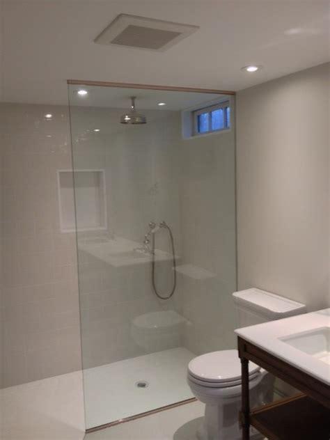 Shower Splash Panel Glass by Frameless Splash Panel Traditional New York By Atm