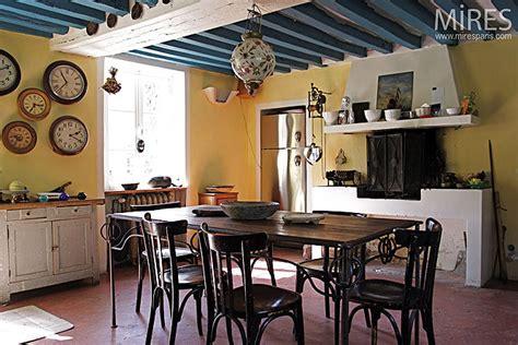 Cuisine Poutre Apparente by Cuisine Et Poutres Apparentes Bleues C0147 Mires