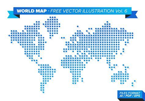 world map illustration free world map free vector illustration vol 6 free