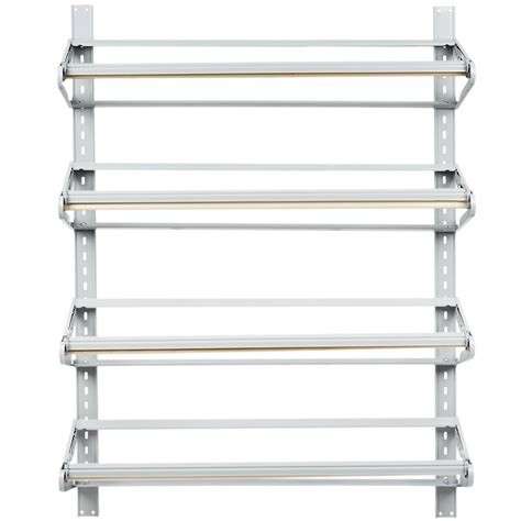 paper rack bulman t293 36 36 quot horizontal four paper roll wall rack