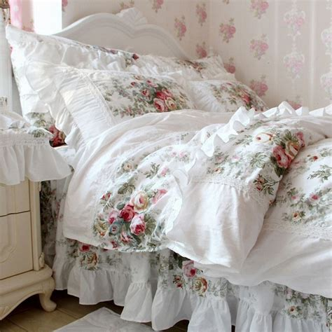 shabby chic style bedding shabby chic bedding sets a atmosphere in a