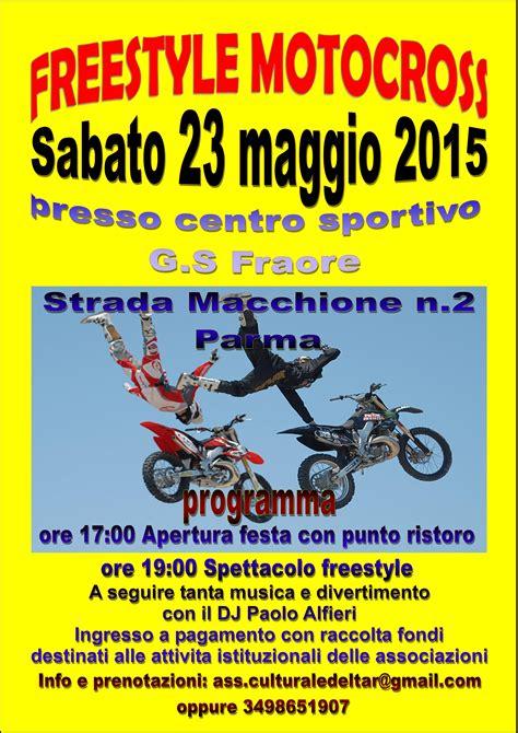 freestyle motocross shows freestyle motocross show 23 maggio parma fmx freestyle