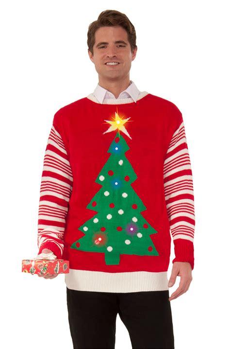 light up tree sweater brand new tree light up sweater