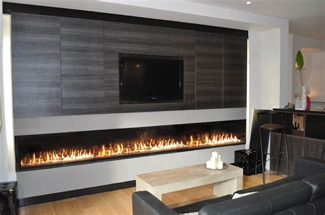Cheminee A Gaz by Chemin 233 E 224 Gaz Grand Format Large Gas Fireplace