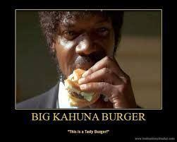 Samuel L Jackson Pulp Fiction Meme - that is a tasty burger