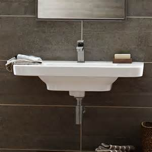 bathroom sink wall hung bathroom sinks lyndon 33 inch wall hung trough bathroom