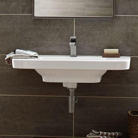 wall hung sinks bathroom bathroom sinks lyndon 33 inch wall hung trough bathroom