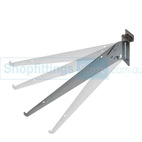 slatwall adjustable shelf brackets 300mm