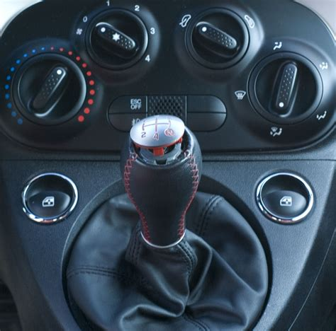 cravenspeed eurocompulsion abarth shift knob install stock