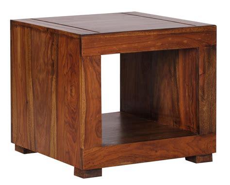 Decke 50 X 50 by Wohnling Sheesham Couchtisch Massiv 50x50 Cm Beistelltisch