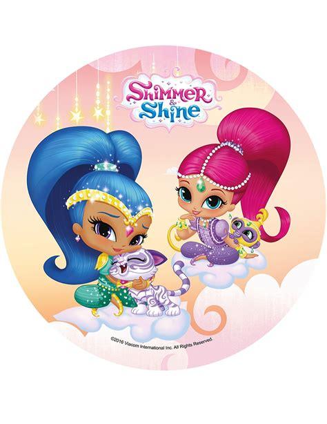 shimmer and shine l disco in ostia shimmer and shine 21 cm addobbi e vestiti