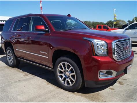gmc yukon red 2017 denali suv 2017 2018 best cars reviews