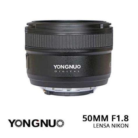 yongnuo lensa nikon 50mm f1 8 harga dan spesifikasi