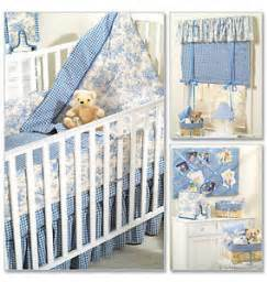 Sewing Patterns For Crib Bedding Mccalls Patterns Baby Bedding Free Baby Patterns