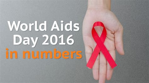 world aids day world aids day 2016 hiv in numbers