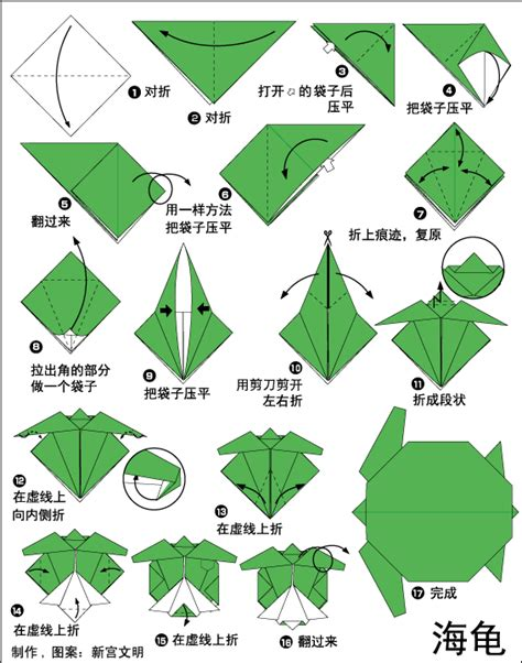 How To Make A Origami Turtle - origami tropical turtle