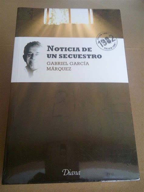 libro noticia de un secuestro libro noticia de un secuestro 230 00 en mercado libre