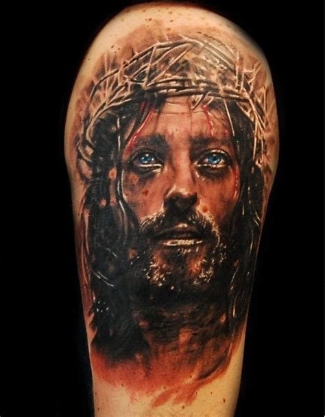 jesus tattoo best nice best ever 3d jesus god tattoo design idea by artist