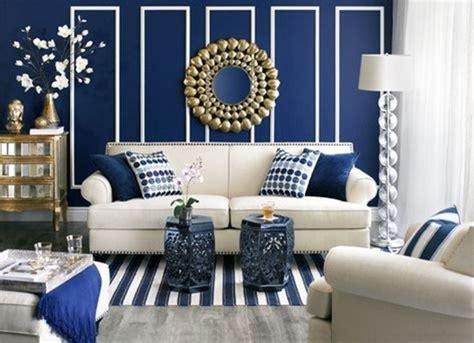 refrescantes disenos de salas en color azul