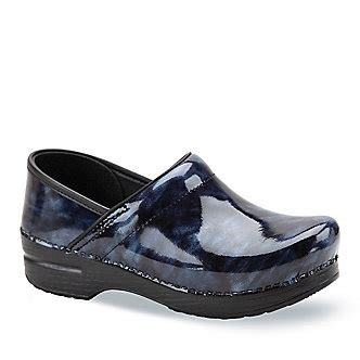 most comfortable business shoes dansko women s professional marbled patent clogs
