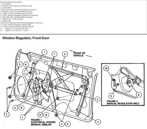 power window parts diagram how do i replace power window motor front driver side 1995