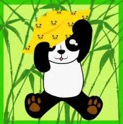 animasi panda gif bergerak  gif images