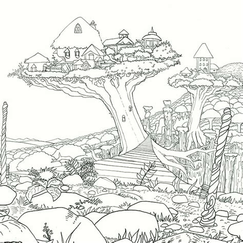 high quality coloring pages for adults legendary worlds a new coloring book empower