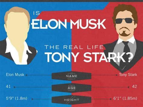 elon musk tony stark is elon musk the real life version of iron man
