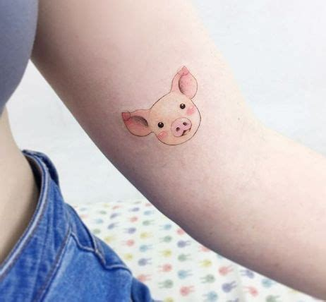 piglet tattoo 25 unique pig tattoos ideas on gravity falls