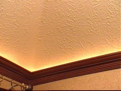 crown molding colors how to mount crown molding to a tray ceiling hgtv