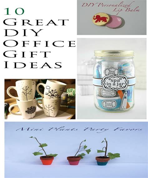 gift ideas for office 10 great diy office gift ideas