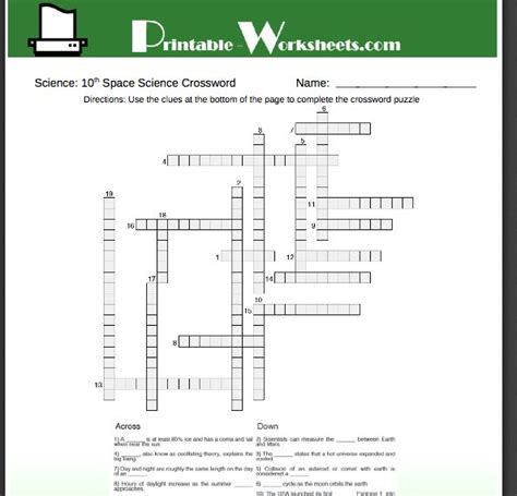 printable math worksheets 10th grade free science
