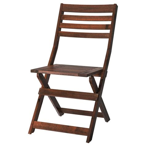 Patio Folding Chairs Furniture 195 Pplar 195 Reclining Chair Outdoor Foldable Brown Stained Ikea Folding Wood Patio Chair