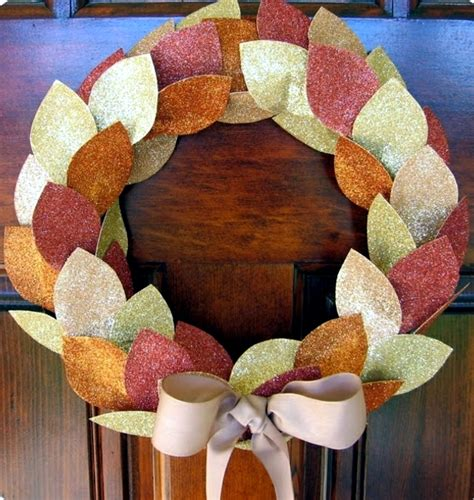 do it yourself fall decorations autumn wreath do it yourself fast craft ideas for autumn