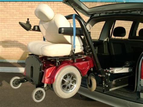 tow boat mobility scooter hoists and lifts for wheelchairs and mobility scooters rica