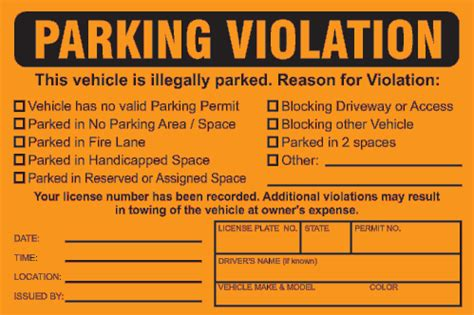 printable parking tickets fake parking ticket template out of darkness