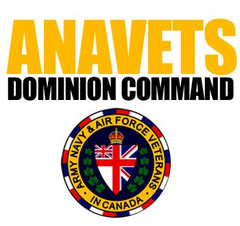 Dominion Exploration Canada Limited Mba Scholarship by Anavets Ca Dominion Command Of The Army Navy Air