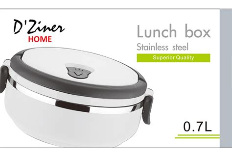 Lunch Box Stainless Steel 1 7lt lunch boxes signature imports