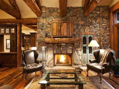 Flamant Home Interiors craftsman living room with exposed beam amp hardwood floors