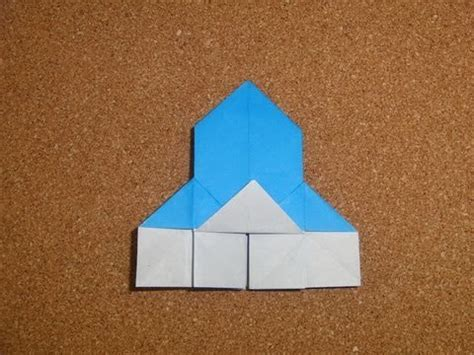 Origami Castle Easy - how to make an origami castle easy
