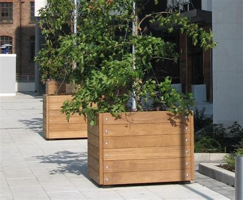 grenadier fsc timber tree planter design esi