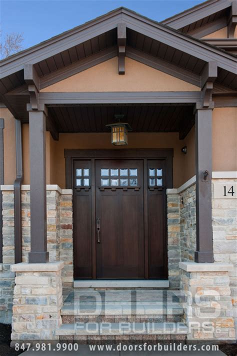prairie style exterior doors contemporary craftsman style prairie style exterior doors brick ranch landscaping