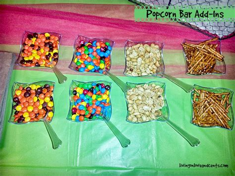 Popcorn Bar Toppings by Popcorn Bar Ideas For Your