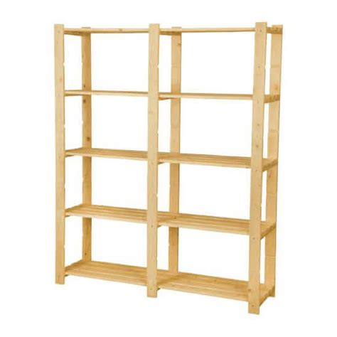 scaffali in legno grezzo scaffali e librerie scaffale elba con 5 ripiani