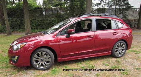 2016 subaru impreza hatchback red 2015 impreza 5 door hatchback exterior photos and images