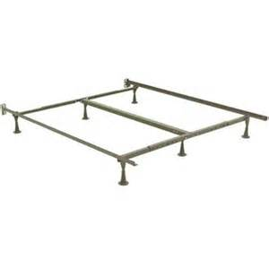 Metal Bed Frame Cal King Metal Bed Frame Fits King Cal King Size Mattress Box New Ebay