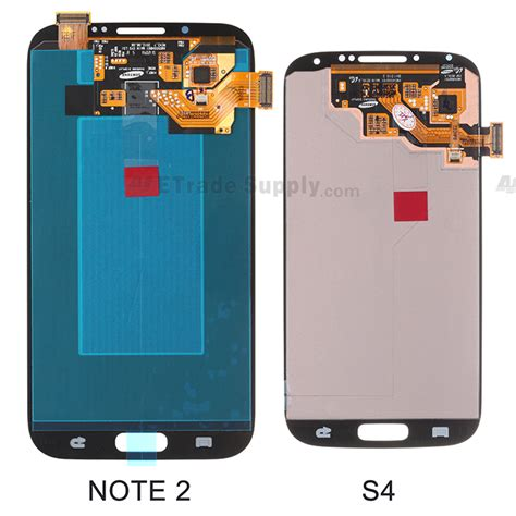 Lcd Samsung Note 2 Samsung Galaxy S4 Digitizer And Lcd Screen Assembly What S Different